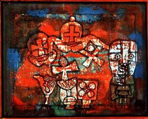 Paul Klee - cinese porcellana