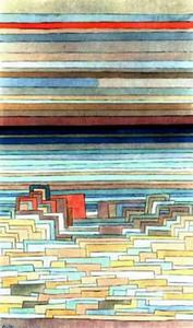 Paul Klee - City in laguna
