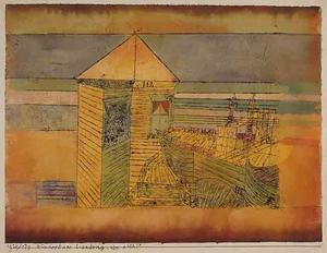 Paul Klee - Miracolosa Landing Oppure  Antartico  --112--