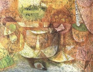 Paul Klee - Natura morta con Colomba