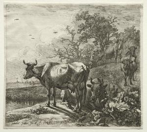 Paulus Potter - Il Cowherd