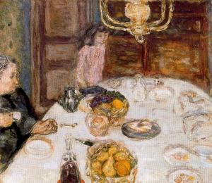 Pierre Bonnard - Pranzo a Le Grand Lamps