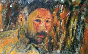 Pierre Bonnard - autoritratto con a `beard`
