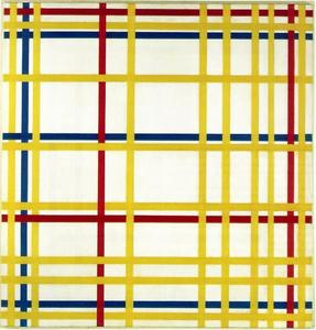 Piet Mondrian - Di New York City I