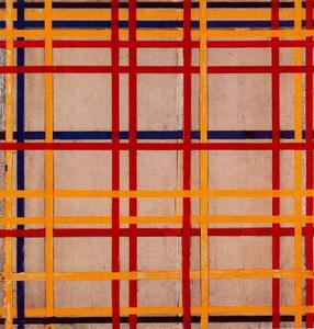 Piet Mondrian - Di New York City II