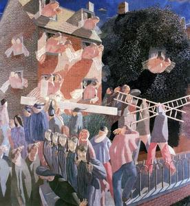 Stanley Spencer - Cristo portacroce cross
