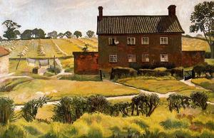 Stanley Spencer - il rosso casa . Wangford