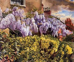 Stanley Spencer - Wisteria. Cookham