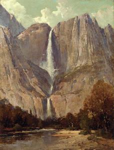 Thomas Hill - Briglia Velo Fall, Yosemite