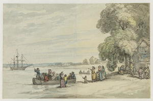 Thomas Rowlandson - Casa Ferry