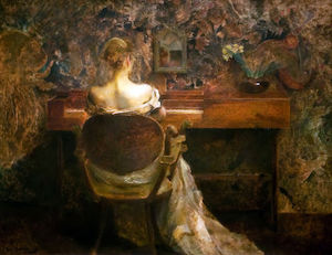Thomas Wilmer Dewing - La Spinetta