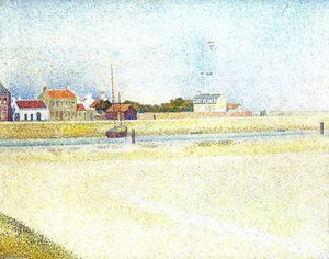 Georges Pierre Seurat - Il Canale di Gravelins, Grand-Fort-Philippe