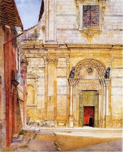 Henry Roderick Newman - I Church of San Giovanni , Lucca