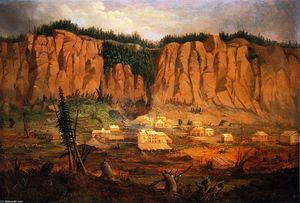 Robert Scott Duncanson - Cliff Miniera