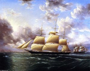 James Edward Buttersworth - The Clipper