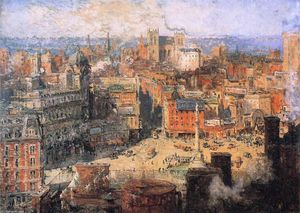 Colin Campbell Cooper - Columbus Circle