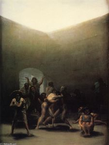Francisco De Goya - Cortile con Lunatics