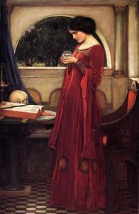 John William Waterhouse - il cristallo palla