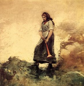 Winslow Homer - figlia del costa guardia