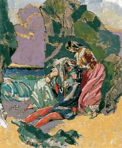 Walter Richard Sickert - Don Juan e Haidee