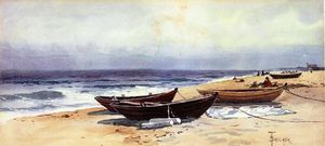 Alfred Thompson Bricher - Dories Lungo Shore