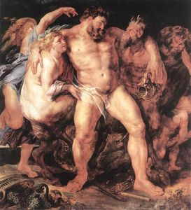 Peter Paul Rubens - The Drunken Ercole