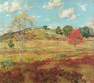 Willard Leroy Metcalf - Early Autumn