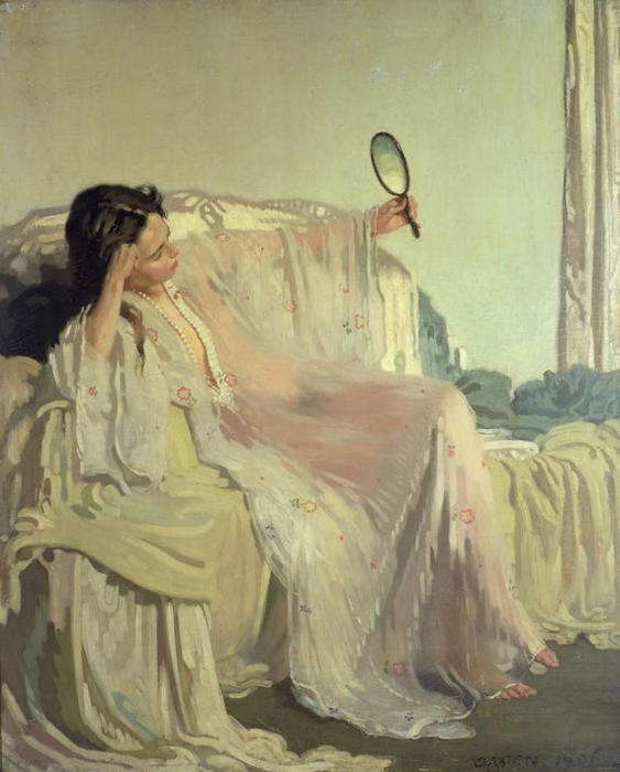 L abito orientale, 1906 di William Newenham Montague Orpen (1878-1931, Ireland)