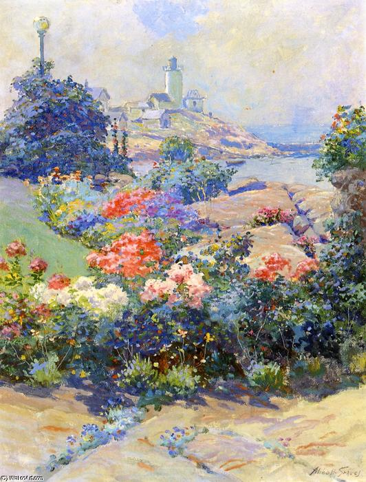 Eastern Point, Gloucester, 1913 di Abbott Fuller Graves (1859-1936, United States) | Stampe D'arte Su Tela | WahooArt.com