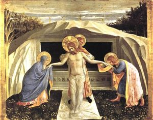 Fra Angelico - deposizione Pala di San Marco