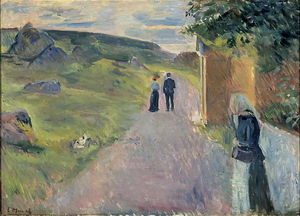 Edvard Munch - Erotica in estate