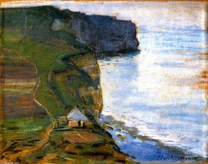 Claude Monet - Étretat, il Cap d Antifer
