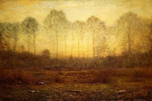 Dwight William Tryon - sera nebbia