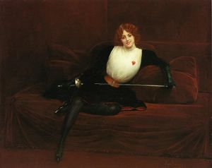Jean Georges Béraud - Il Fencer