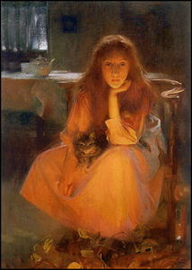 Arthur Hacker - Fuoco Fancies