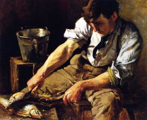 Mathias Joseph Alten - The Fish Scaler