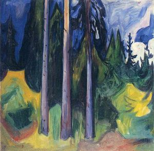 Edvard Munch - Bosco