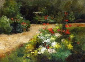 Gustave Caillebotte - giardino