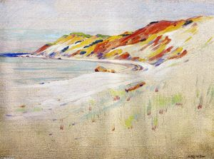 Arthur Wesley Dow - Gay Head, Martha s Vineyard