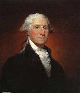 Gilbert Stuart - Giorgio WASHINGTON
