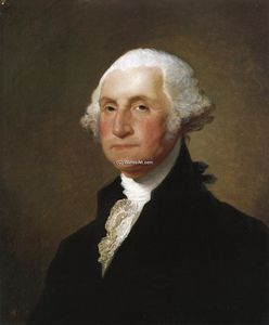 Gilbert Stuart - Giorgio WASHINGTON 8