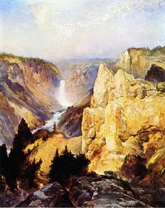 Thomas Moran - gran canyon del `yellowstone