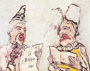 James Ensor - Singers Grotesque