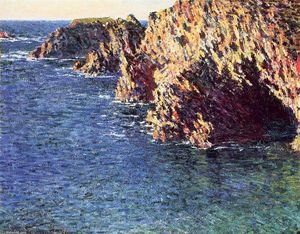 Claude Monet - La Grotta di Port-Domois