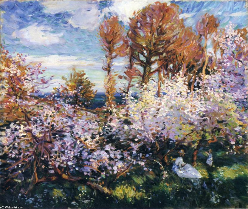 Gwendreath Blossom di Wilfred Gabriel De Glehn (1870-1951, United Kingdom)
