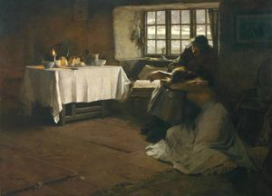 Frank Bramley - Un alba Hopeless