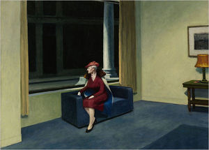 Edward Hopper - hotel finestra