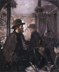 William Newenham Montague Orpen - In The Pub