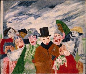 James Ensor - L Intrigue