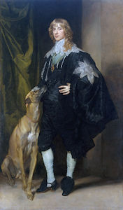 Anthony Van Dyck - ritratto di james stuart , duca di richmond e lenox